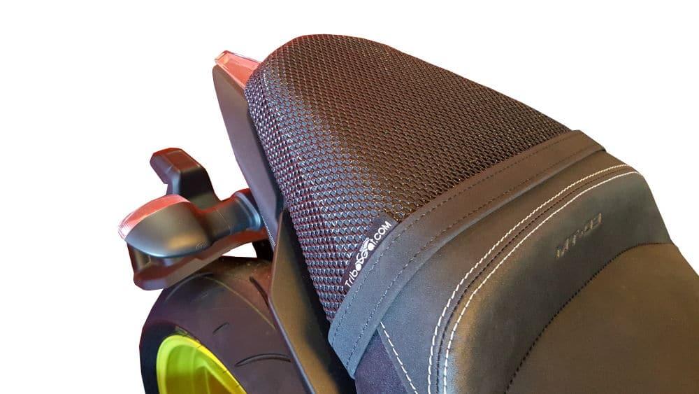 YAMAHA MT09 SPORT TRACKER 2015-2017  TRIBOSEAT ANTI-SLIP PASSENGER SEAT COVER